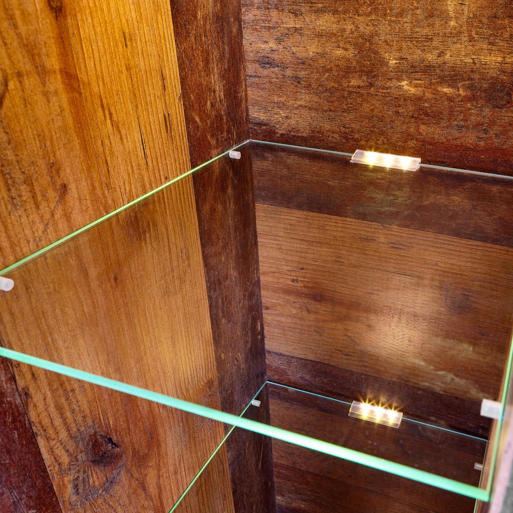 Hom`in Glasbodenbeleuchtungs-set 3-teilig