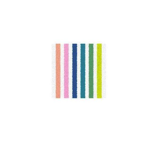 BADEMATTE  Multicolor  60/60 cm - Multicolor, Design, Kunststoff/Textil (60/60cm) - Ambiente