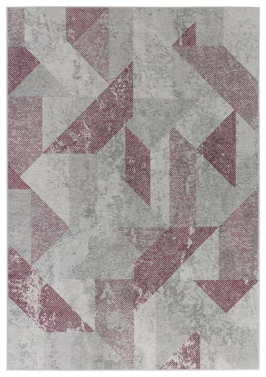 VINTAGE-TEPPICH - Rosa/Grau, KONVENTIONELL, Textil (170/240cm) - Dieter Knoll