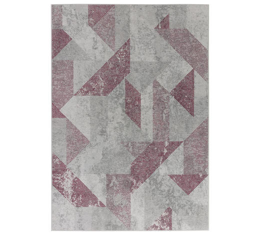 VINTAGE-TEPPICH - Rosa/Grau, KONVENTIONELL, Textil (125/180cm) - Dieter Knoll