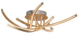 LED-DECKENLEUCHTE - KONVENTIONELL, Kunststoff/Metall (66cm) - Novel