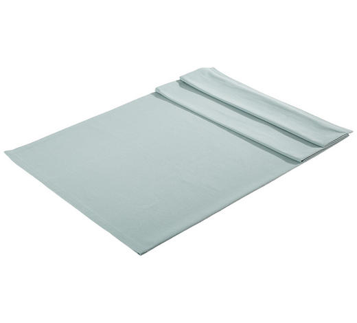 TISCHDECKE Textil Webstoff Blau 100/100 cm - Blau, Basics, Textil (100/100cm) - Bio:Vio