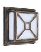 ZUNANJA SVETILKA DARIUS - zlata, Konvencionalno, kovina/umetna masa (29/29cm)