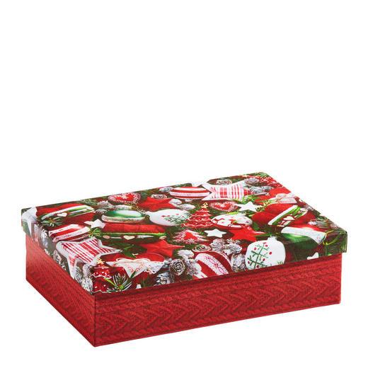 GESCHENKBOX   Rot - Rot, Karton