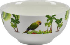 MÜSLISCHALE - Multicolor, Trend, Keramik (14cm) - Landscape