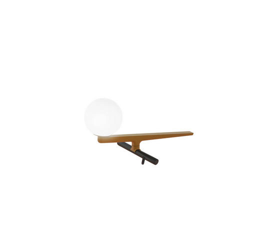 LED-TISCHLEUCHTE - Schwarz, Design, Metall (28/15/16cm) - Artemide
