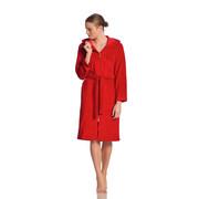 BADEMANTEL Palermo  gr L - Rot, Basics, Textil (L) - Vossen