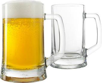 GLÄSERSET 2-teilig - Klar, Glas (0,3l) - LEONARDO