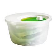 SALATSCHLEUDER - Weiß/Grün, Basics, Kunststoff (4l) - Emsa
