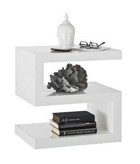 AVLASTNINGSBORD - vit, Design, träbaserade material (50/50/38,5cm) - Xora