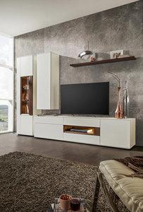 WOHNWAND in Grau, Weiß, Nussbaumfarben online kaufen ➤ XXXLutz