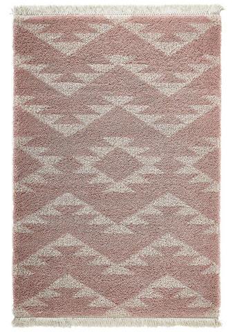 WEBTEPPICH  160/230 cm  Creme, Rosa   - Creme/Rosa, Textil (160/230cm) - Novel