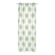 ÖSENVORHANG blickdicht - Grün, Design, Textil (140/245cm) - Esposa