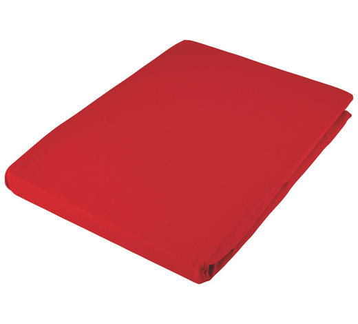 SPANNLEINTUCH 90/190 cm - Rot, Basics, Textil (90/190cm) - Fussenegger