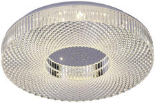 LED-Deckenleuchte Zaira - ROMANTIK / LANDHAUS, Kunststoff/Metall (40cm) - James Wood