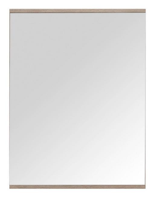SPIEGEL - Eichefarben, Design, Holzwerkstoff (60/80/2cm) - Xora