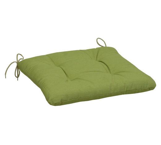 SITZKISSEN - Grün, KONVENTIONELL, Textil (38/38/5cm)
