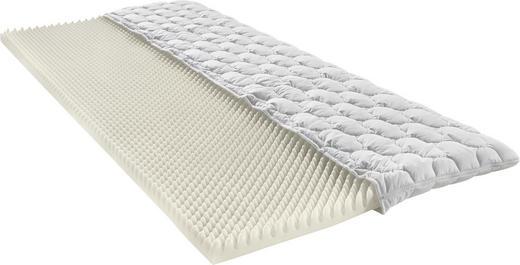 TOPPER 180/200 cm Polyurethanschaumkern - Weiß, Basics, Textil (180/200cm) - SLEEPTEX
