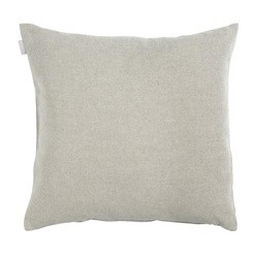 KISSENHÜLLE Hellgrau 50/50 cm - Hellgrau, Basics, Textil (50/50cm) - Linum
