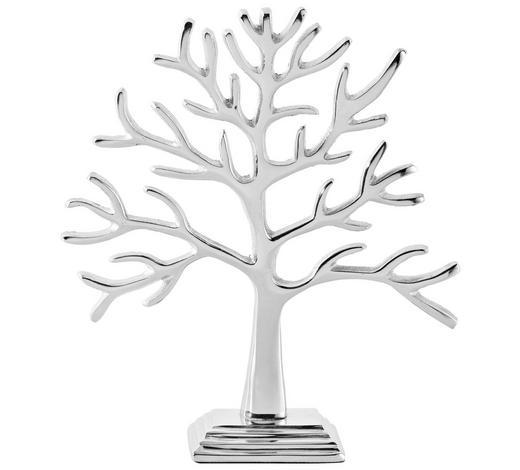 STROM DEKORAČNÍ - barvy stříbra, Konvenční, kov (22/25,5/5,5cm) - Ambia Home