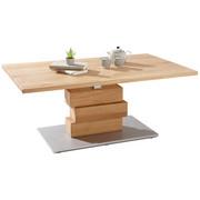 Perfekt COUCHTISCH In Eichefarben   Eichefarben/Alufarben, Design, Holz/Holzwerkstoff  (110,