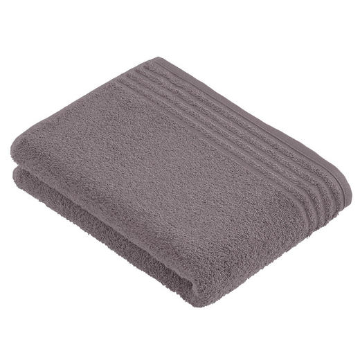 BADETUCH 80/160 cm - Taupe, Basics, Textil (80/160cm) - Vossen