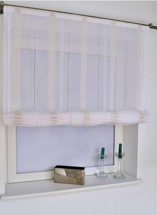 RAFFROLLO   80/170 cm - Naturfarben/Weiß, Textil (80/170cm) - Esposa