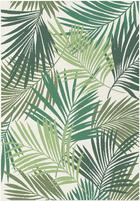 FLACHWEBETEPPICH  120/170 cm  Grün, Naturfarben - Naturfarben/Grün, Design, Textil (120/170cm) - Boxxx