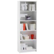 REGAL in 60/172/28 cm Weiß - Weiß, KONVENTIONELL, Holzwerkstoff (60/172/28cm) - Carryhome
