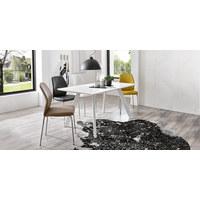 STOLICA - svijetlo smeđa/boje kroma, Design, metal/tekstil (47/90/58cm) - Carryhome