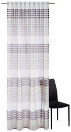 FERTIGVORHANG  halbtransparent   140/245 cm - Brombeere, Design, Textil (140/245cm) - ESPOSA