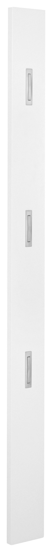 GARDEROBENPANEEL 14/170/3 cm - Weiß, KONVENTIONELL, Holz (14/170/3cm) - Novel