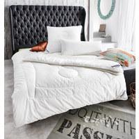 GANZJAHRESBETT  135/200 cm - Creme, Basics, Textil (135/200cm) - Sleeptex