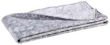 Tagesdecke - Grau, KONVENTIONELL, Textil (220/260cm) - Novel