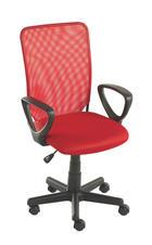 SNURRSTOL UNGDOM - röd/svart, Design, textil/plast (54/90,5-102,5/54cm) - CARRYHOME
