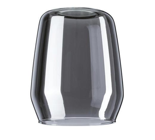 SCHIENENSYSTEM-LEUCHTENSCHIRM   - Grau, Design, Glas (8cm)