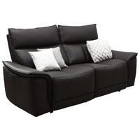 DVOSJED SOFA - smeđa, Konvencionalno, koža (190/102/100cm) - Celina Home