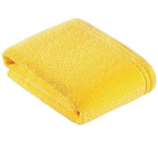 BADETUCH - Gelb, Basics, Textil (100/150cm) - Vossen