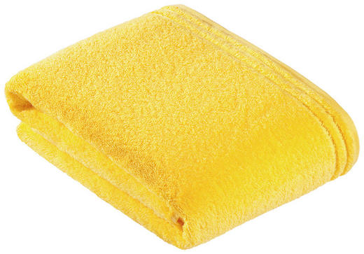 BADETUCH 100/150 cm - Gelb, Basics, Textil (100/150cm)