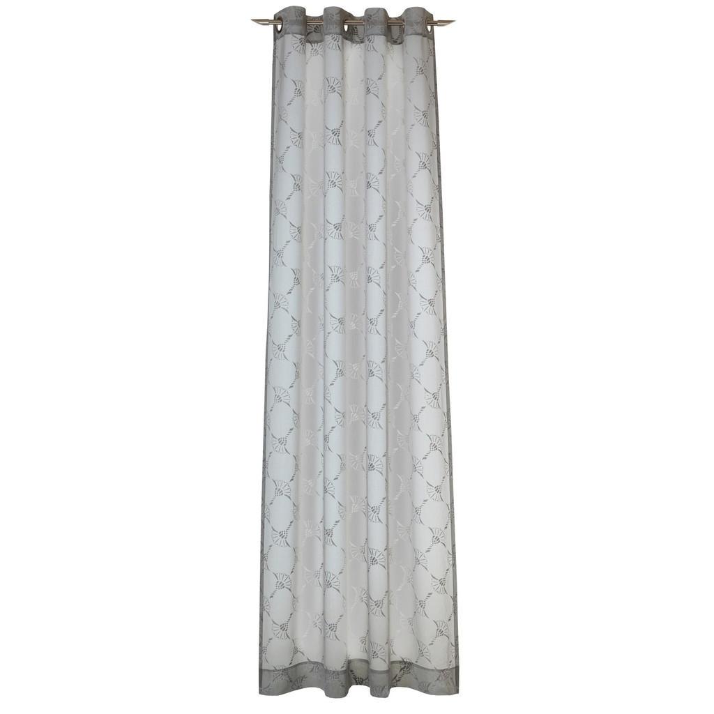 Joop! Ösenschal airy transparent 140/250 cm