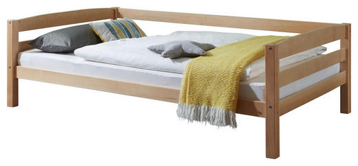 KINDER-/JUNIORBETT - Naturfarben, Design, Holz (120/200cm)