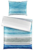 POVLEČENÍ - bílá/modrá, Konvenční, textil (140/200cm) - Novel
