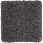 BADEMATTE  50/50 cm  Grau   - Grau, Basics, Naturmaterialien/Textil (50/50cm) - Esposa