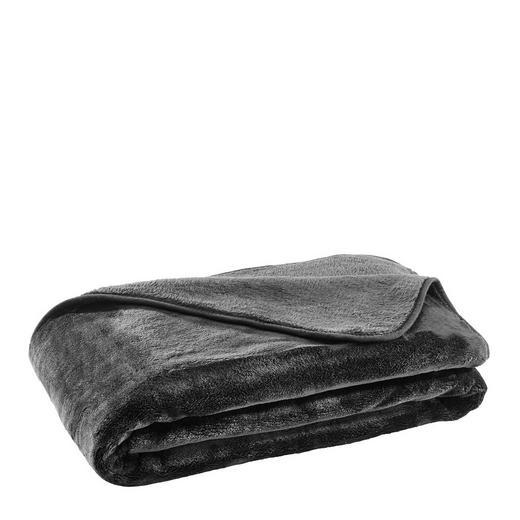 WOHNDECKE 130/170 cm Schwarz - Schwarz, Design, Textil (130/170cm) - Novel