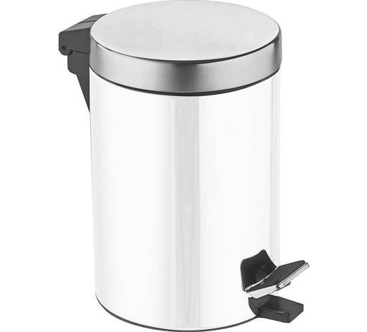 TRETEIMER Metall  - Schwarz/Weiß, Basics, Kunststoff/Metall (20,5/27cm) - Celina