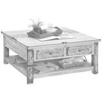 COUCHTISCH in 100/45/100 cm Braun - Braun, LIFESTYLE, Holz (100/45/100cm) - LANDSCAPE