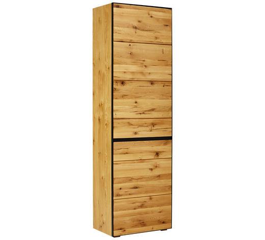 GARDEROBENSCHRANK 60/200/38 cm - Eichefarben/Anthrazit, Natur, Holz/Holzwerkstoff (60/200/38cm) - Linea Natura