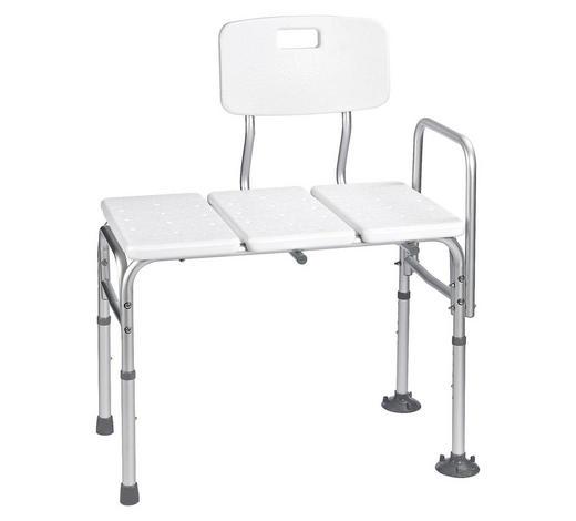 EINSTIEGSHILFE Metall, Kunststoff  - Silberfarben/Weiß, Basics, Kunststoff/Metall