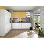 ECKKÜCHE 238/180 cm  - Gelb/Weiß, KONVENTIONELL, Holzwerkstoff (238/180cm) - Xora