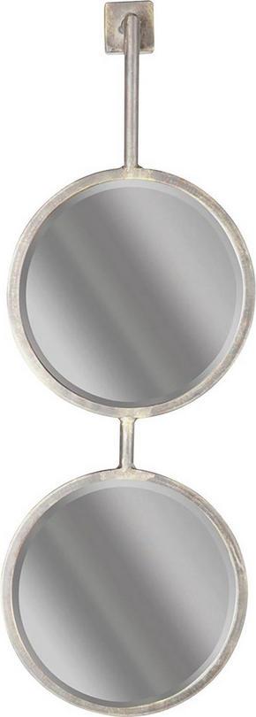 SPEGEL - svart, Design, metall/glas (29/64/2,2cm) - Ambia Home